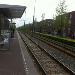 Photo taken at Tramhalte Vennepluimstraat by Vitor S. on 5/17/2012