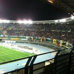 Photo taken at Stadio Marc'Antonio Bentegodi by Maurizio I. on 3/30/2012