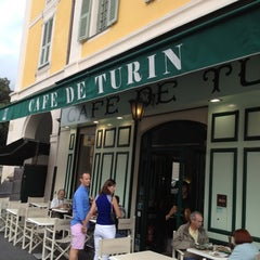 Photo taken at Café de Turin by iKon on 9/1/2012