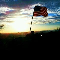 Photo taken at Thunderbird Mountain by Jesse M. on 6/28/2012