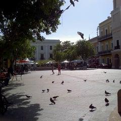 Photo taken at Plaza De Armas by Ruben C. on 7/28/2012