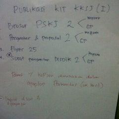 Photo taken at Perkantas Pintu Air by Putra I. on 6/13/2012