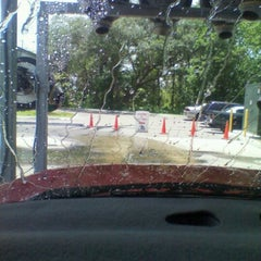 Photo taken at 3 Minute $3  Car Wash by Marian on 7/28/2012