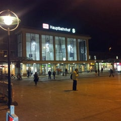 Photo taken at Dortmund Hauptbahnhof by Marco on 9/4/2012
