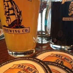 Photo taken at Dry Dock Brewing Company - South Dock by Jennifer A. on 3/17/2012
