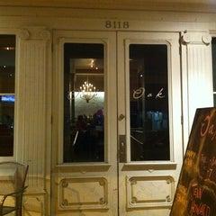 Photo taken at Oak Wine Bar by Marina K. on 2/26/2012