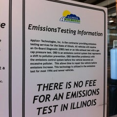 Photo taken at Illinois Air Team - Emissions Testing Station by Jennifer D. on 8/11/2012