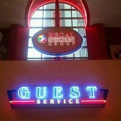 Photo taken at Regal Cinemas Riviera 8 by Drew on 2/4/2012