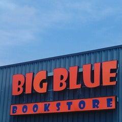 Photo taken at Big Blue Bookstore by Jen E. on 8/11/2012