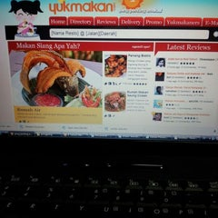 Photo taken at Yukmakan's HQ by veronica c. on 5/2/2012