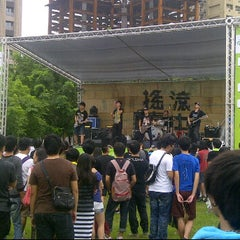 Photo taken at 圓滿戶外劇場 Fulfillment Amphitheatre by Levent T. on 9/1/2012