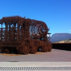 Photo taken at MONA: Museum of Old and New Art by Edwin J. on 6/28/2012