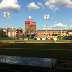 Photo taken at AutoZone Park by Kevin G. on 7/23/2012