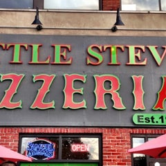 Photo taken at Little Steve's Pizzeria by Steven T. on 7/8/2012