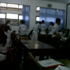 Photo taken at SMAN 1 Kuta Utara by Gayatri A. on 9/13/2012