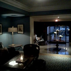 Photo taken at The Normandy Hotel by Tinu A. on 2/28/2012