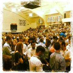 Photo taken at McDonough Gymnasium, Georgetown University by Scott A. on 8/26/2012