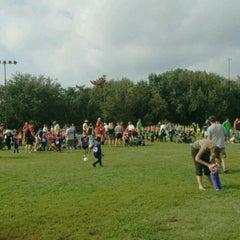 Photo taken at Latrobe Field by Dave F. on 9/8/2012