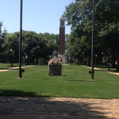 Photo taken at University of Alabama Quad by Donnie M. on 5/20/2012