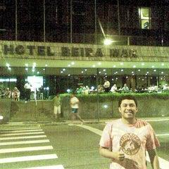 Photo taken at Hotel Beira Mar by Rodrigo O. on 4/9/2012