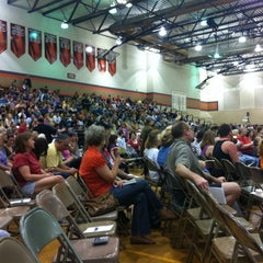 Photo taken at Burlington High School by Summer H. on 3/20/2012
