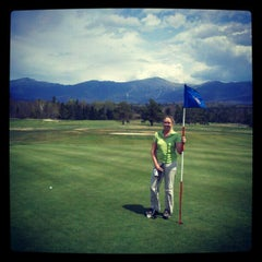 Photo taken at Mount Washington Resort Golf Club by Adam D. on 5/13/2012