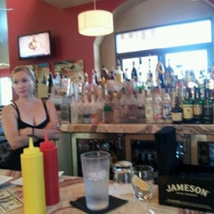 Photo taken at Bottles & Burgers By Double Helix by Tyler P. on 7/23/2012
