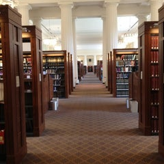 Photo taken at Harvard Law School Library by Heather B. on 6/3/2012