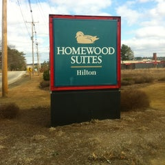 Photo taken at Homewood Suites by Hilton Manchester Airport by Holger V. on 3/10/2012