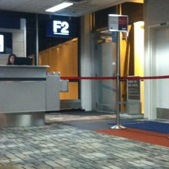 Photo taken at Gate F2 by lindsay on 2/25/2012