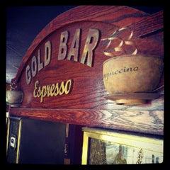 Photo taken at Gold Bar Espresso by Jesse Thomas F. on 8/14/2012