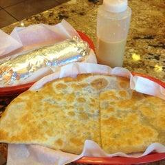 Photo taken at La Victoria Taqueria by Jason Q. on 7/20/2012