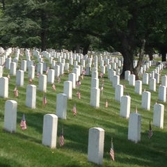 Photo taken at Arlington National Cemetery by Carrie C. on 5/26/2012