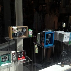 Photo taken at Lomography Gallery Store Antwerp by truus on 7/24/2012
