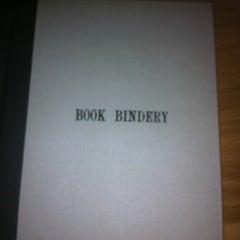 Photo taken at Book Bindery by Ellen G. on 3/28/2012
