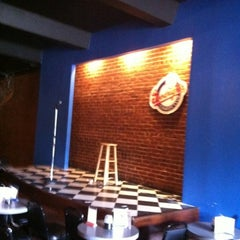 Photo taken at Goodnight's Comedy Club & Restaurant by Brad R. on 8/7/2012