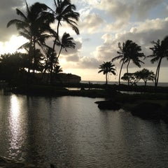 Photo taken at Grand Hyatt Kauai Resort and Spa by Richard S B. on 3/1/2012