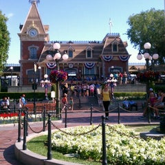 Photo taken at Main Street, U.S.A. by Jim D. on 7/11/2012