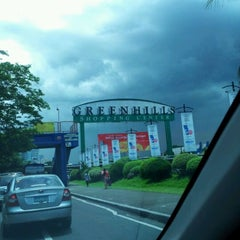 Photo taken at Greenhills Shopping Center by Hanifa T. M. on 7/7/2012
