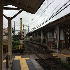 Photo taken at 神明駅 (Shimmei Sta.) by Ken K. on 7/7/2012