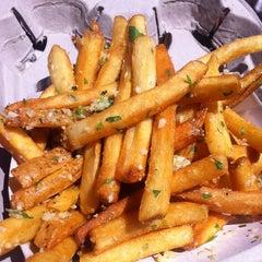 Photo taken at Gilroy Garlic Fries by GG on 6/9/2012