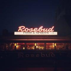 Photo taken at Rosebud Diner by Max F. on 4/13/2012