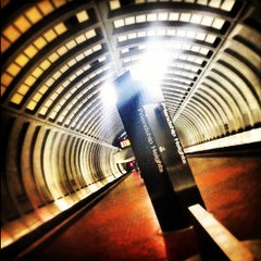 Photo taken at Friendship Heights Metro Station by Howard J. on 9/2/2012