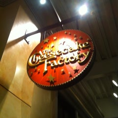 Photo taken at The Cheesecake Factory by Mike V. on 5/8/2012