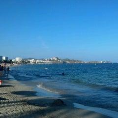 Photo taken at Platja d'En Bossa by Goyo P. on 8/13/2012