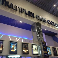 Photo taken at Cine Colombia by Andres B. on 7/6/2012