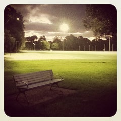 Photo taken at Meadowbank Park by Ilya K. on 3/6/2012