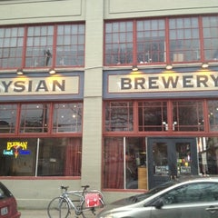 Photo taken at Elysian Brewing Company by Trevor B. on 3/20/2012
