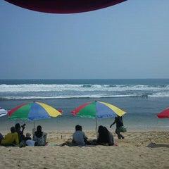 Photo taken at Pantai Indrayanti by oka m. on 2/25/2012