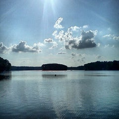 Photo taken at Thagard Lake by Justin B. on 8/4/2012